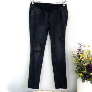 Jessica Simpson Maternity jeans skinny distressed